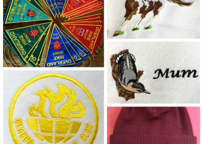 Embroidered and Printed T-Shirts & Clothing